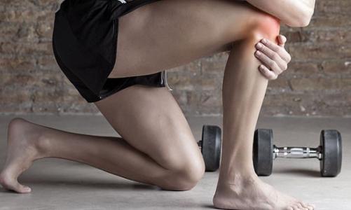 Боль под коленной чашечкой спереди - причины и лечение